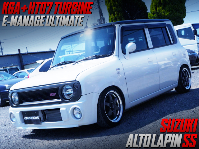 HT07 TURBINE AND E-MANAGE ULTIMATE INTO ALTO LAPIN SS.