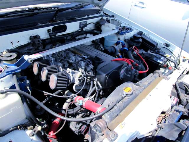 GARAGE ANNEX 20-VALVE 4AG COMPLETE ENGINE.