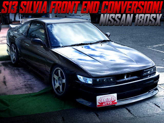 S13 SILVIA FRONT END CONVERSION TO 180SX.