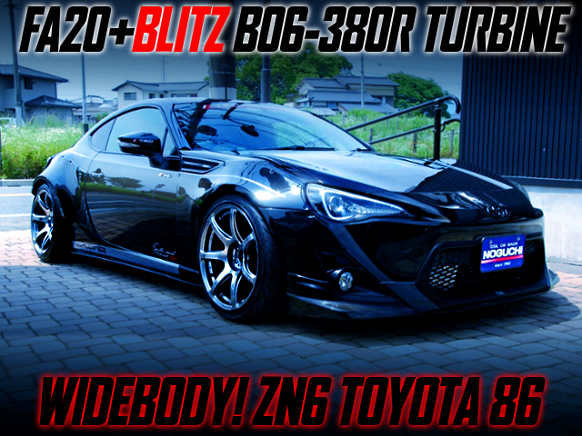 BLITZ B06-380R TURBOCHARGED TOYOTA 86 WIDEBODY.