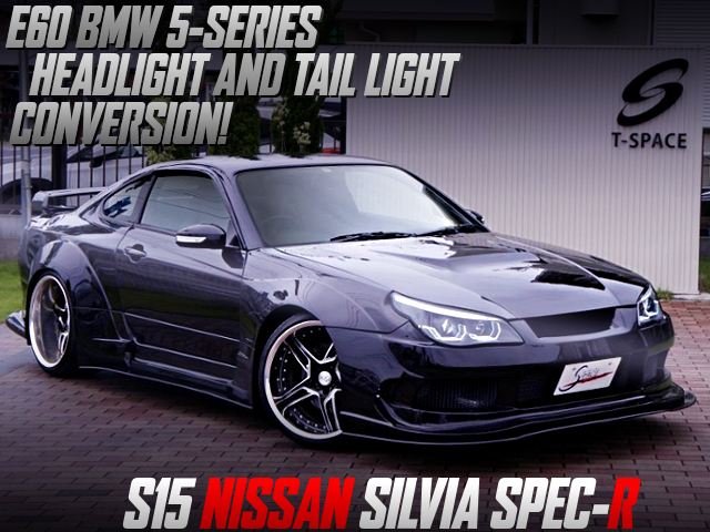 E60 BMW 5-SERIES HEADLIGHT AND TAIL LIGHT CONVERSION TO S15 SILVIA SPEC-R.