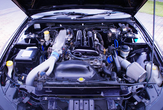 S15 SR20DET TURBO ENGINE.