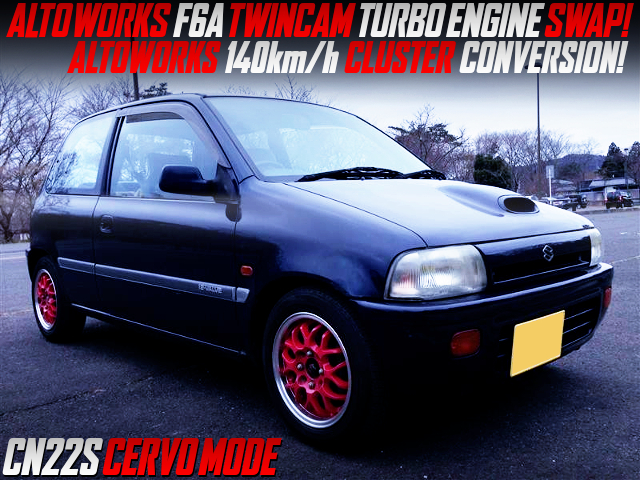 F6A TWINCAM TURBO ENGINE SWAP AND 5MT INTO CN22S CERVO MODE.