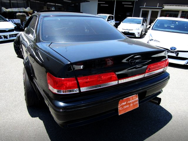 REAR EXTERIOR OF CHASER FRONT END TO JZX100 MARK2.