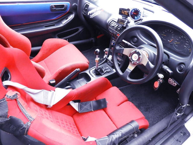 DC2 INTEGRA TYPE-R MODIFIED INTERIOR.