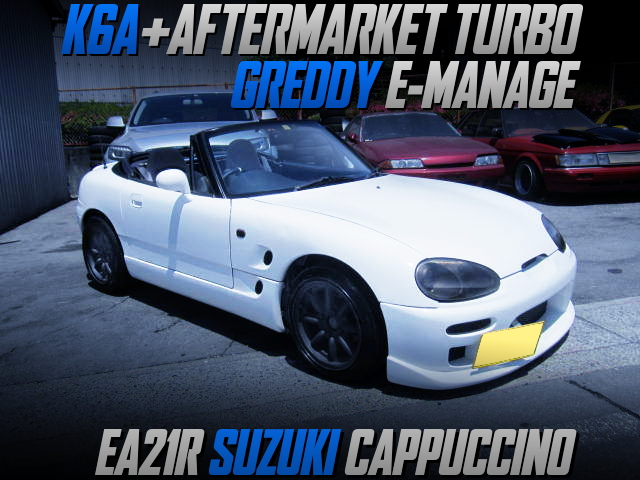 AFTERMARKET TURBO ON K6A TURBO ENGINE With EA21R CAPPUCCINO.