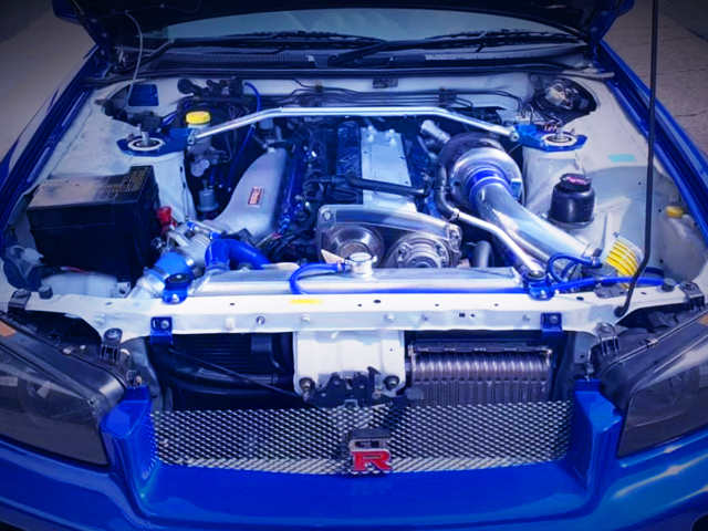RB25DET With TD06-20G And GREDDY INTAKE SURGE
