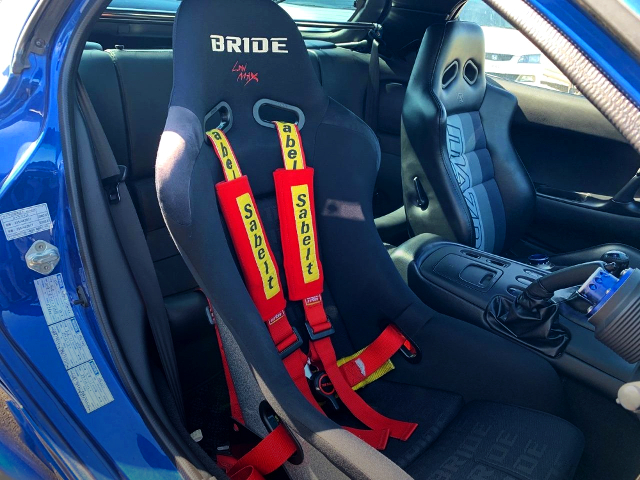 DRIVER'S BRIDE FULL BACKET SEAT.