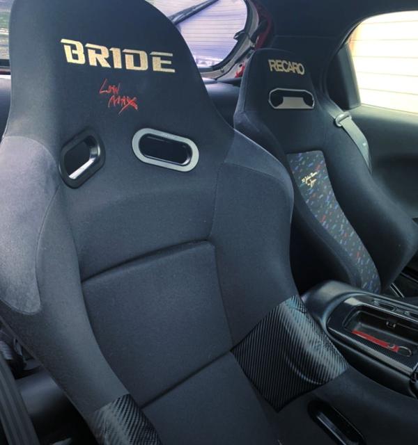 DRIVER'S BRIDE FULL BUCKETSEAT.