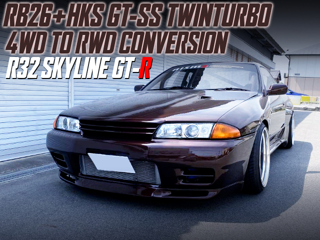 4WD TO RWD CONVERSION TO R32 GT-R.