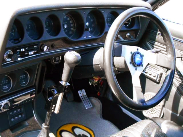 GALANT GTO MR DASHBOARD AND STEERING.