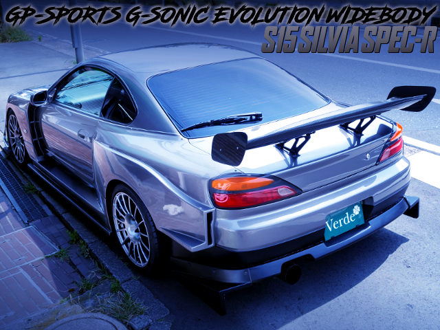 GP-SPORTS G-SONIC EVOLUTION WIDEBODY BUILT TO S15 SILVIA SPEC-R.