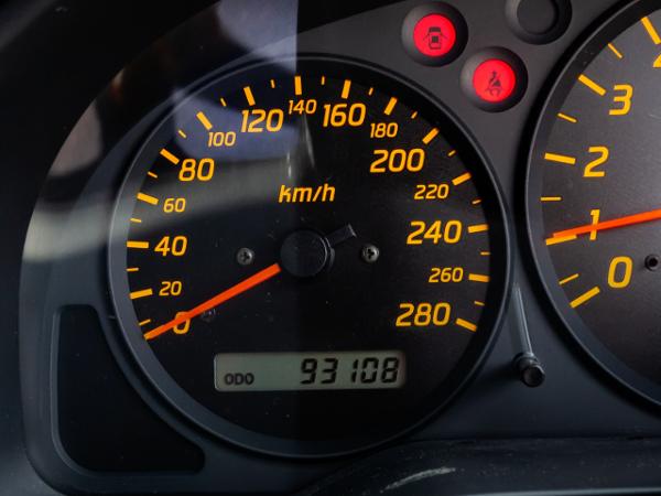 280km/h SCALE CLUSTER.