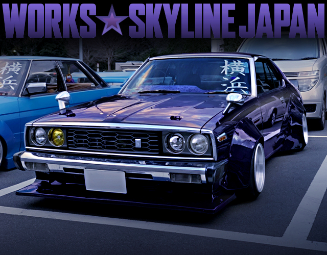 WORKS WIDEBODY BUILT OF HGC211 SKYLINE JAPAN 2-DOOR With KAIDO RACER.