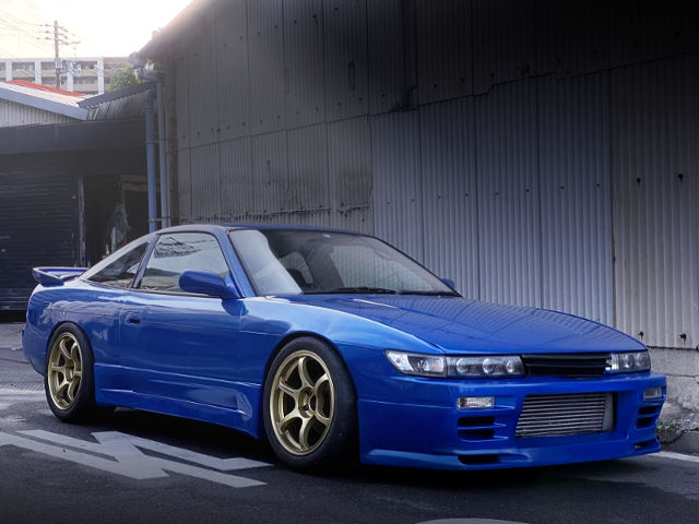FRONT EXTERIOR OF INITIAL-D SILEIGHTY STYLE TO 180SX.
