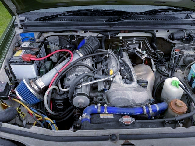 M16 1.6L ENGINE With SUPERCHARGER.