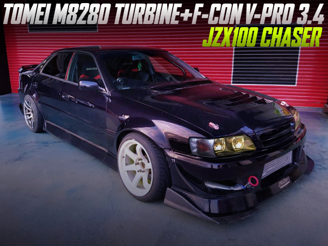 M8280 TURBO AND F-CON V-PRO WITH DRIFT SPEC JZX100 CHASER.