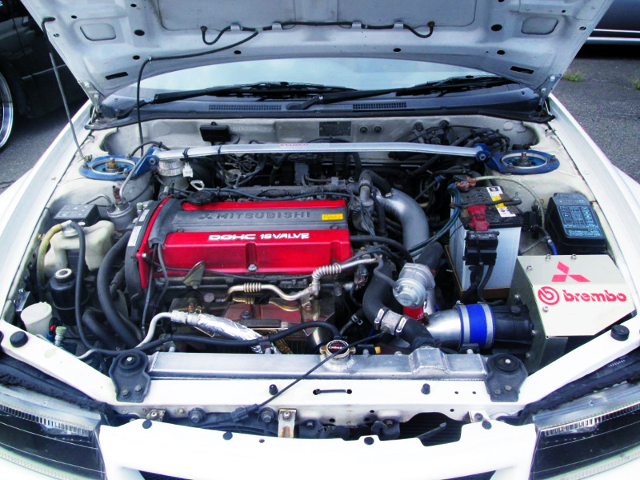 4G63 TURBO ENGINE OF EVO5 GSR.