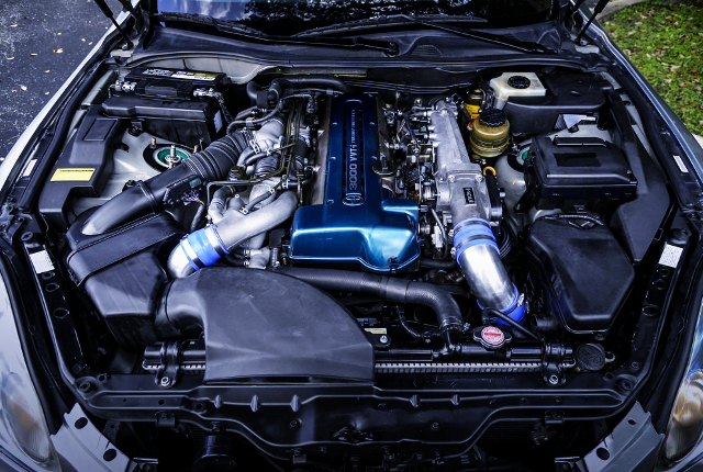 VVT-i 2JZ-GTE TWINTURBO ENGINE.