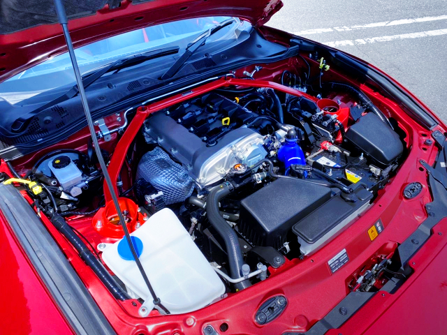 P5-VP 1500cc ENGINE OF ND5RC ROADSTER MOTOR.