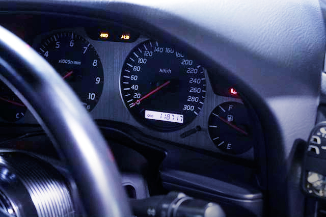 300km/h SPEEDOMETER CLUSTER.
