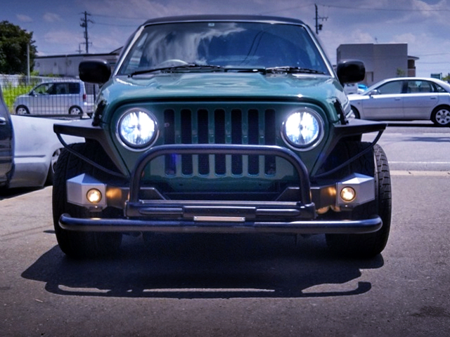JEEP WRANGLER FRONT FACE TO MAZDA PROCEED MARVIE.