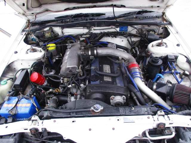 RB25DET 2.5-liter TURBO ENGINE.