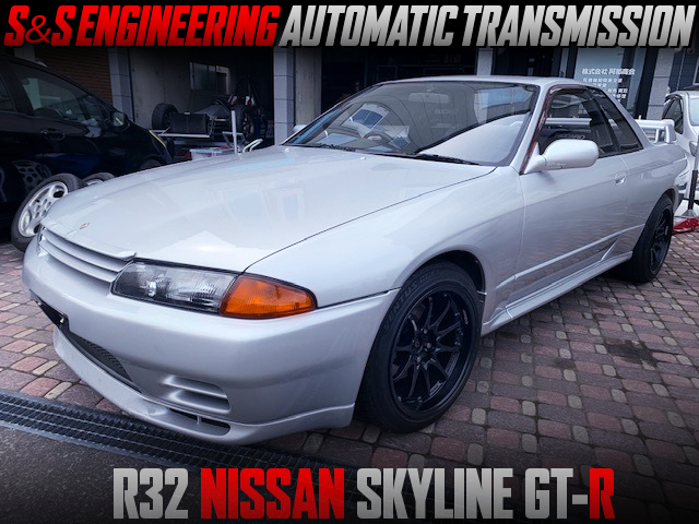 S AND S AUTOMATIC GEARBOX INTO R32 GT-R.