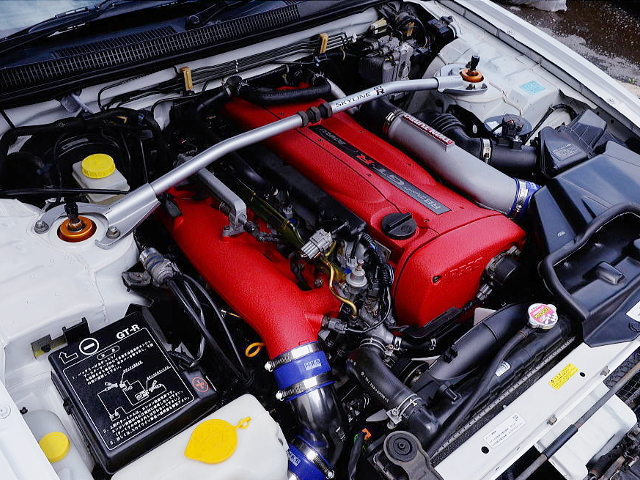 RB26DETT TWINTURBO ENGINE OF R33 AUTECH 40TH MOTOR.