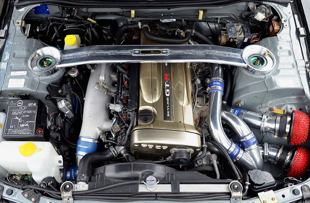 RB26 With GT-SS TWINTURBO.