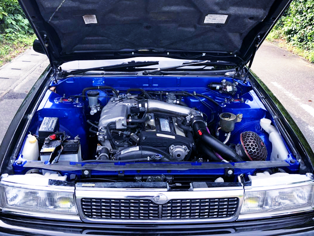 RB20DET 2-LITER TURBO ENGINE.