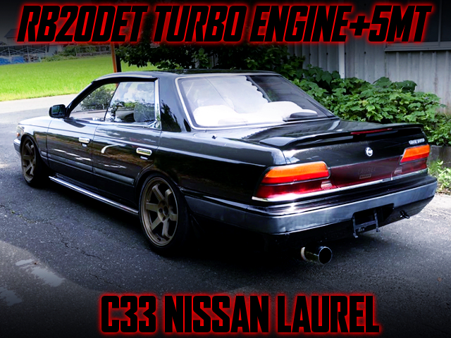 RB20DET TURBO SWAP With 5MT INTO C33 NISSAN LAUREL.