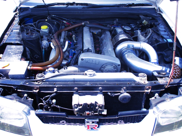 RB26 BIG SINGLE TURBO ENGINE.
