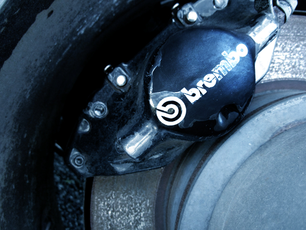 REAR Brembo 2-POT BRAKE CALIPER.