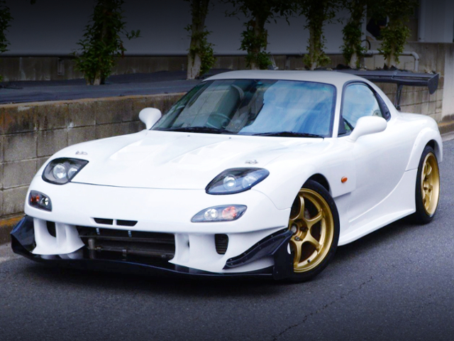 FRONT EXTERIOR OF FD3S RX-7 GT-AD Ver 2 WIDEBODY..