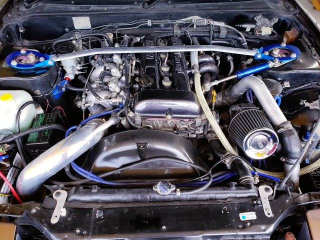 AFTERMARKET TURBO ON SR20DET TURBO ENGINE.