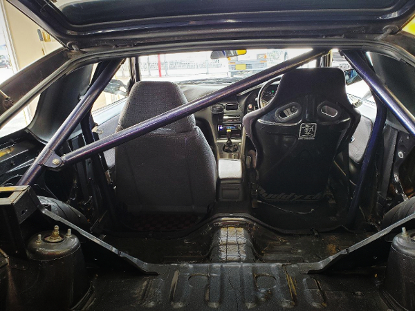 ROLL BAR INSTALL AND TWO-SEATER CONVERSION.