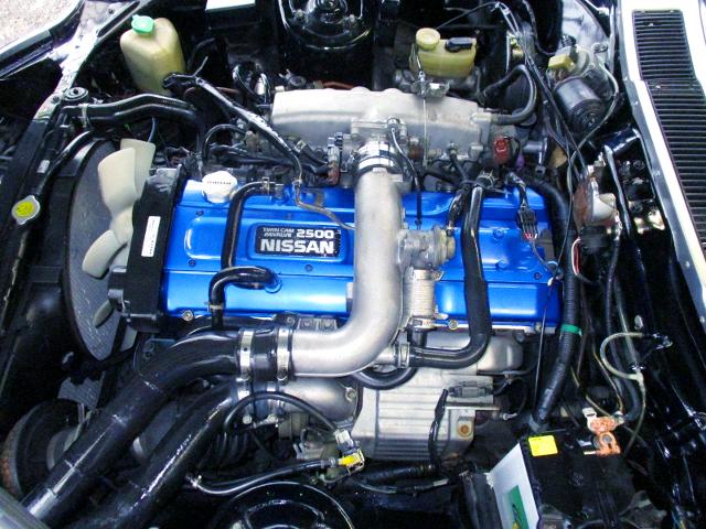 RB25DET 2500cc TURBO ENGINE.