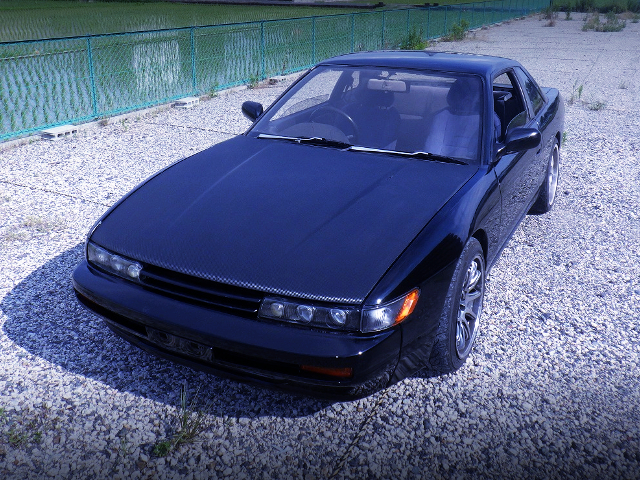 FRONT FACE OF S13 SILVIA Qs.