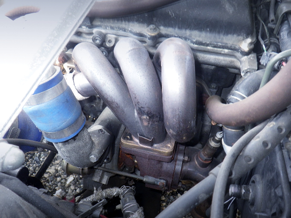 T518Z TURBINE AND AFTERMARKET EXHAUST MANIFOLD ON SR20DET
