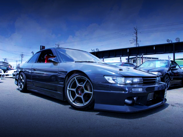 FRONT EXTERIOR OF S13 SILVIA K's.