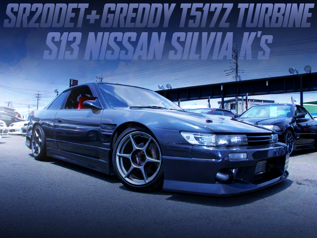 GREDDY T517Z TURBOCHARGED S13 SILVIA K's TO GREY PAINT.