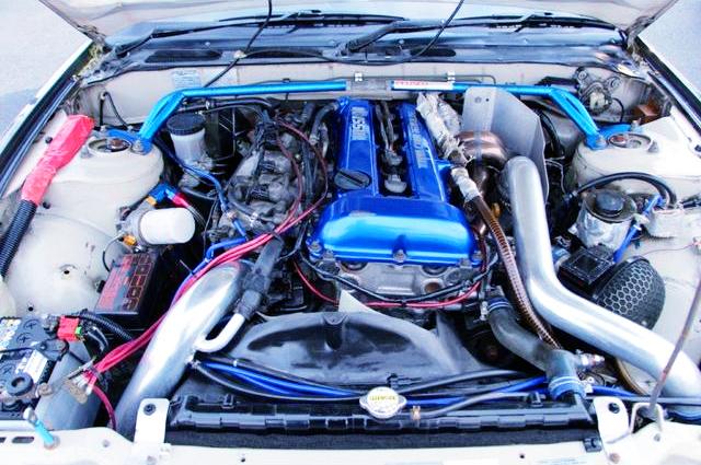 SR20DET TURBO ENGINE OF S13 SILVIA K'S MOTOR.