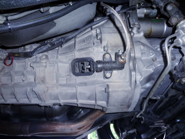 S15 6-SPEED MANUAL TRANSMISSION INSTALLED TO S14 SILVIA.