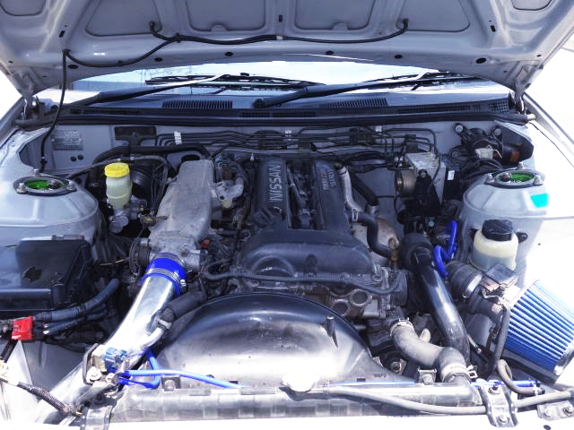 BLACK TOP SR20DET TURBO ENGINE.