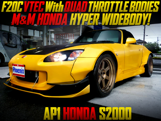F20C with ITBs INTO S2000 WIDEBODY.