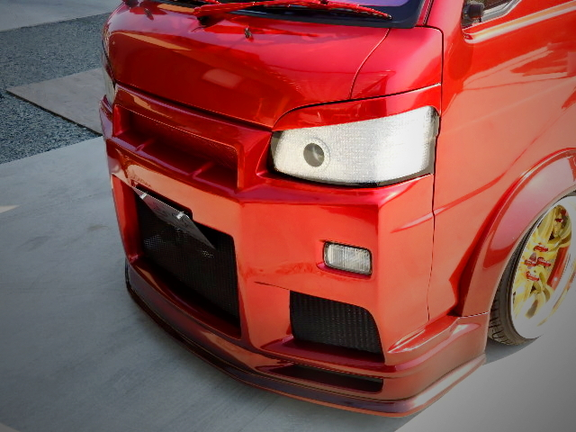 R34 GT-R FACE STYLE OF S201P HIJET.