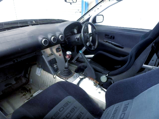 S15 DASHBOARD CONVERSION AND ROLL BAR INSTALLED.