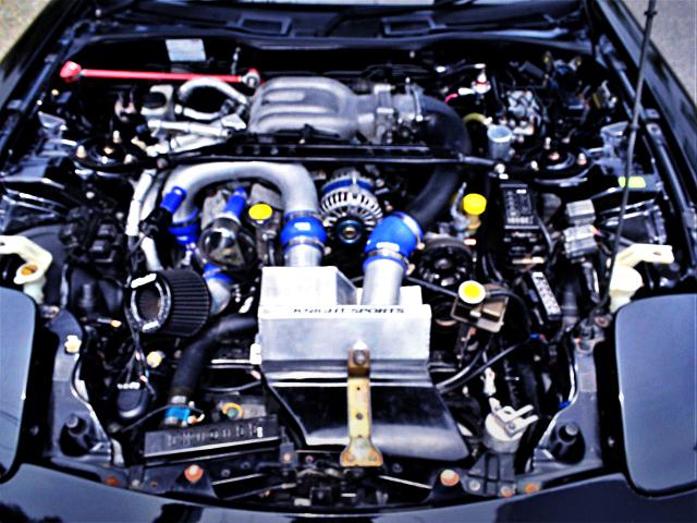SINGLE TURBO CONVERSION TO 13B-REW ENGINE.