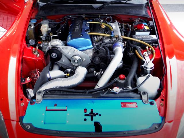 F20C VTEC With HKS GT SUPERCHARGER KIT.
